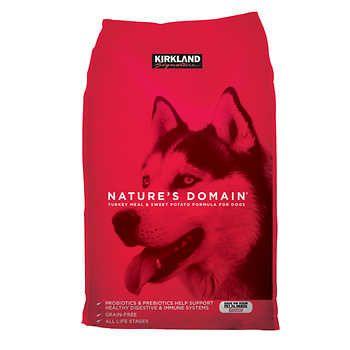 Kirkland Signature Nature S Domain Turkey Meal Sweet Potato Dog