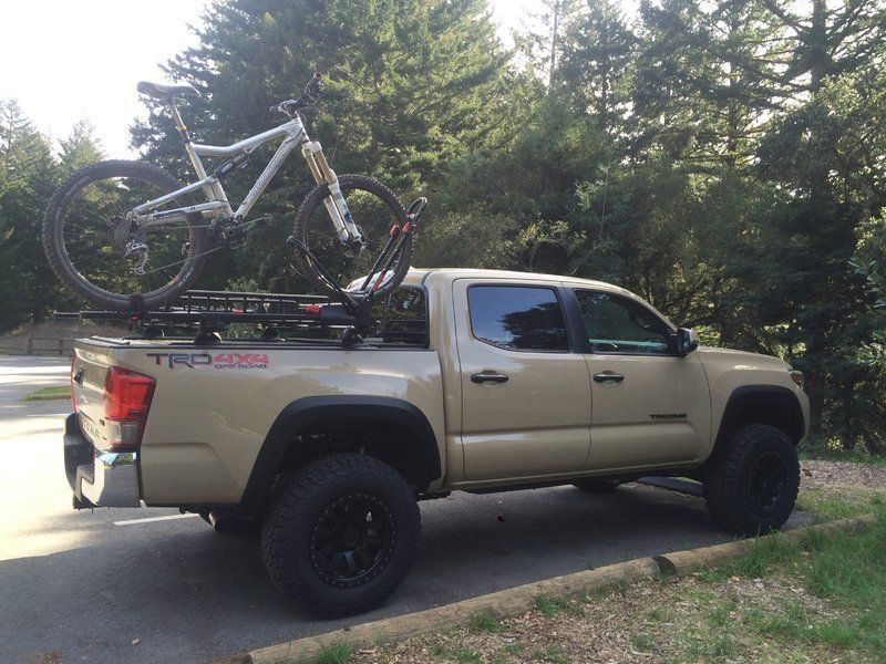 Image result for toyota bike rack Truck bike rack