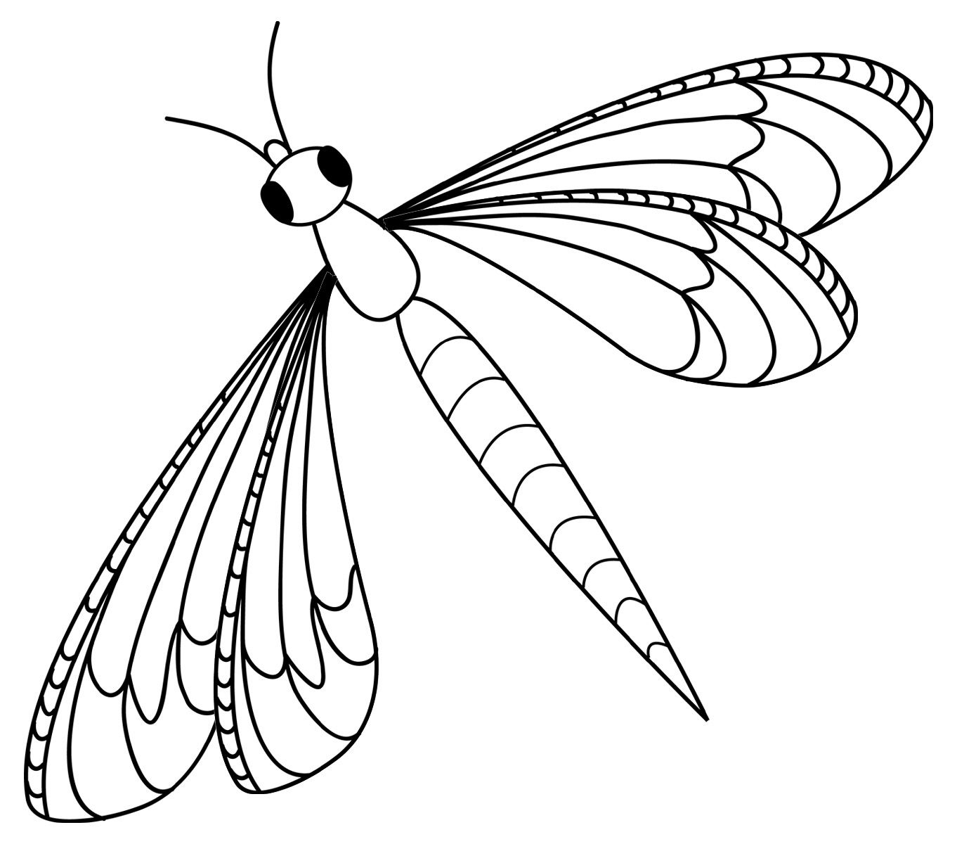 Dragonfly Clipart Free I0 Jpg 1362 1200 Insect Coloring Pages Dragonfly Images Butterfly Coloring Page