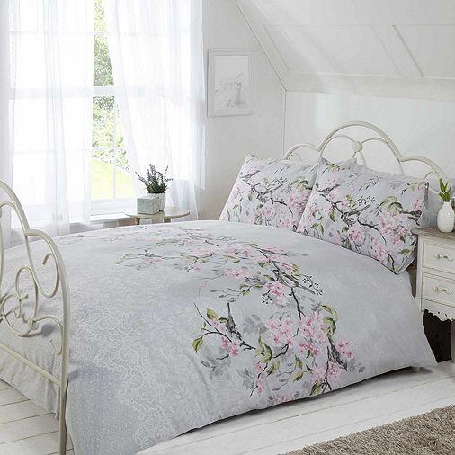 Tesco Direct Eloise Bedding Pink Duvet Cover Duvet Cover Sets Designer Bed Sheets