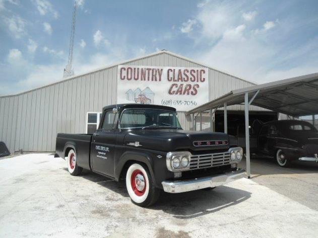 AutoTrader Classics - 1959 Ford F100 Truck Black 8 Cylinder Automatic Other   Classic Trucks   & AutoTrader Classics - 1959 Ford F100 Truck Black 8 Cylinder ... markmcfarlin.com