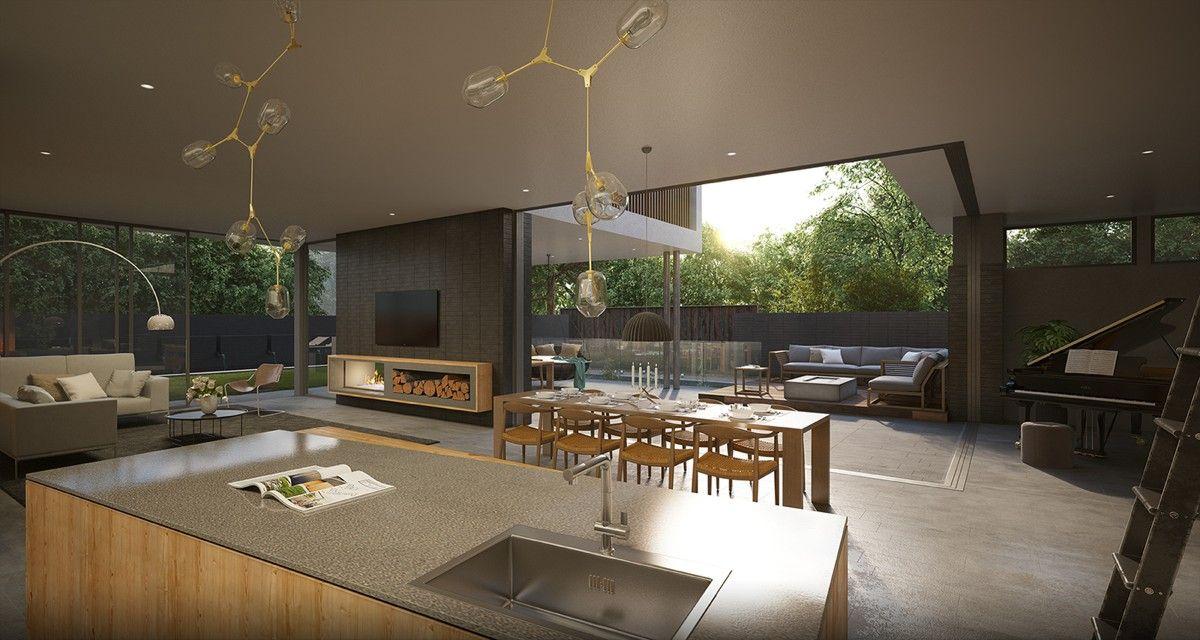 3 modern villas that embrace indoor outdoor living salon