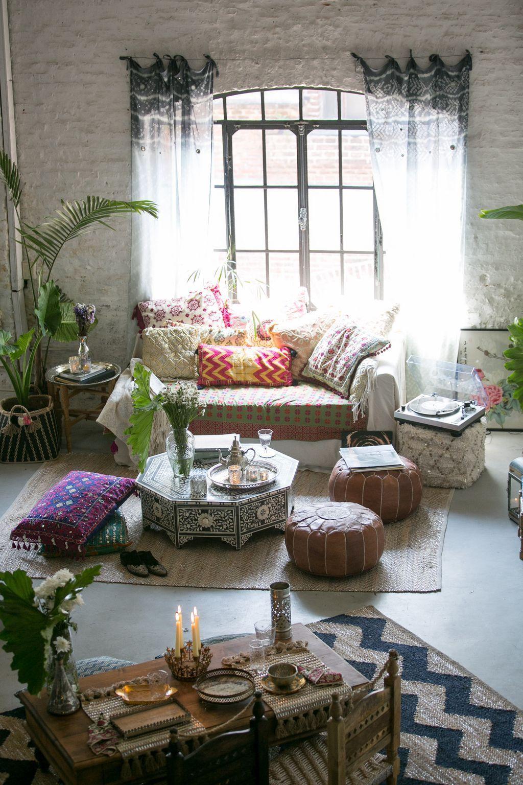 Rustic Boho Living Room Ideas: 90+ Modern Rustic Bohemian Living Room Design Ideas