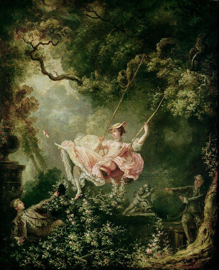 The Swing 1766 By Jean Fragonard Rococo Style Art Jean Honore