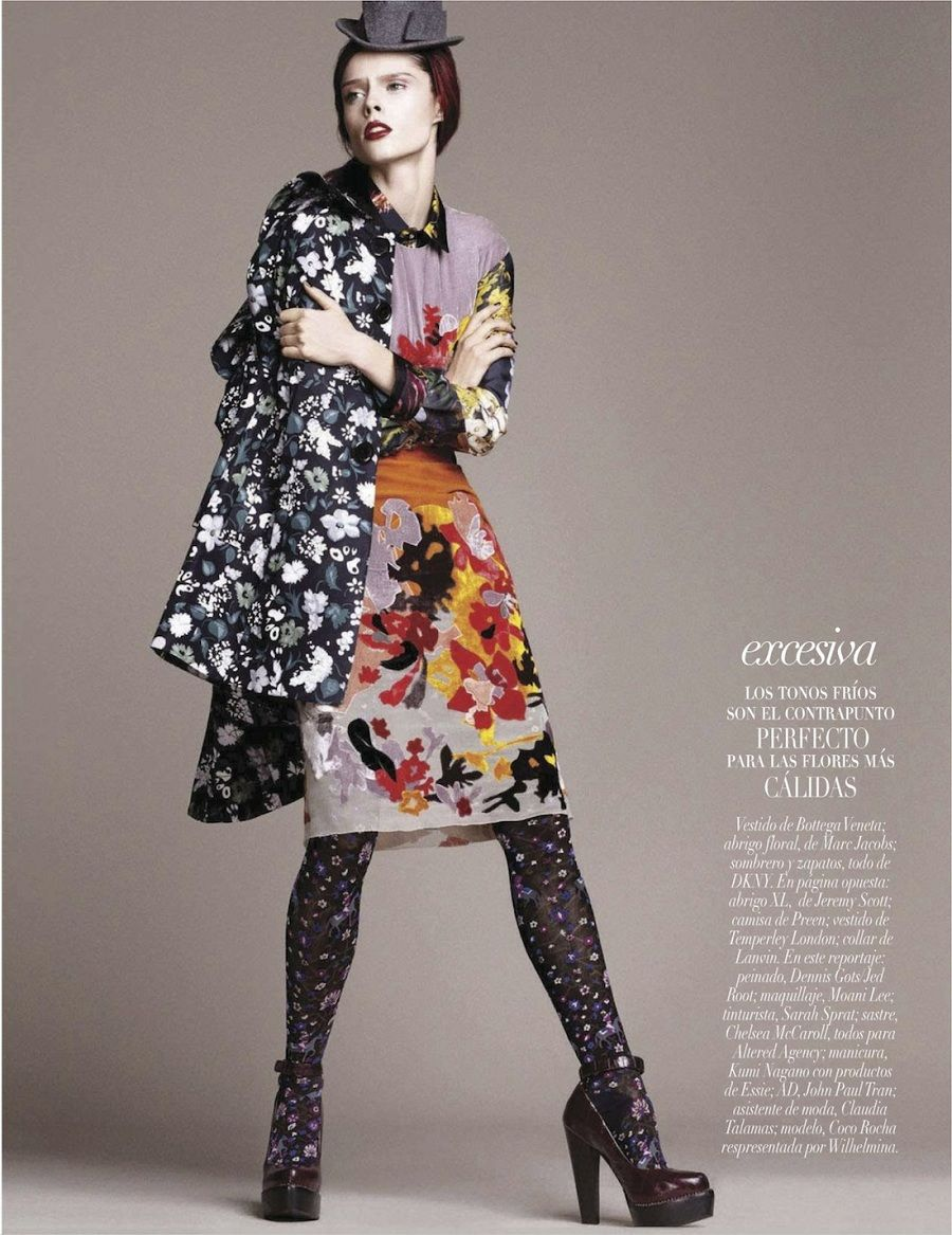 """Sin Limite""  Coco Rocha for Vogue Mexico December 2012"