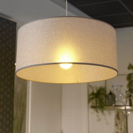 Suspension, e27 design Shine paillettes coton doré 1 x 100 W