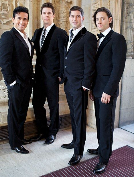 We risked death to become parents il divo singer - Divo music group ...