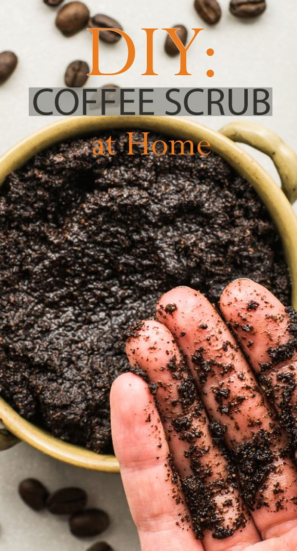 DIY Coffee Scrub at Home in 2020 Coffee scrub, Healthy