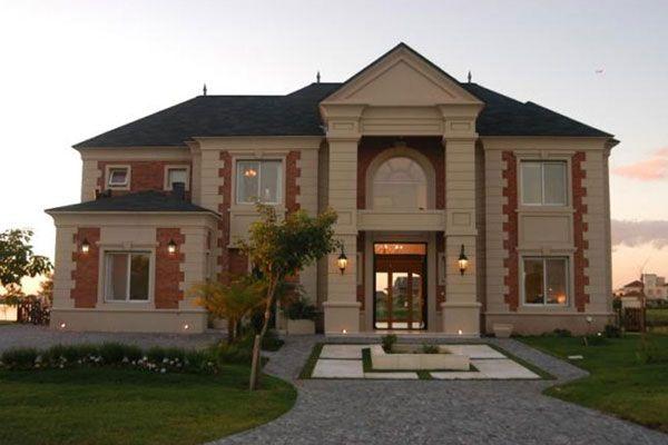 Fachada estilo ingles pesquisa google adornos fachada for Casa de campo de estilo ingles decoracion