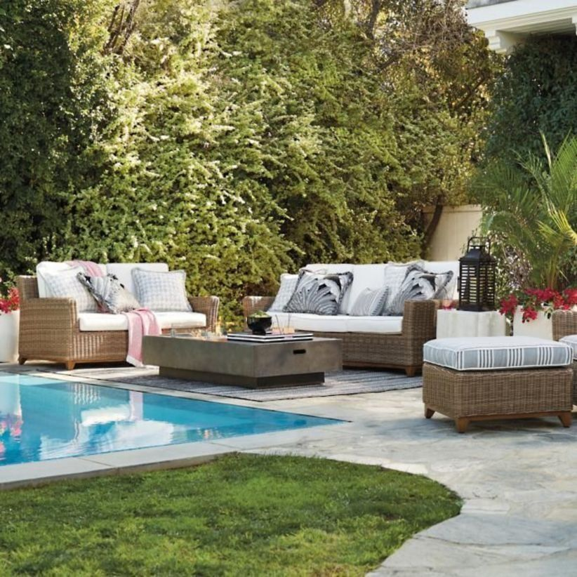 55 Cute Outdoor Living Room For Spring Outdoor Furniture