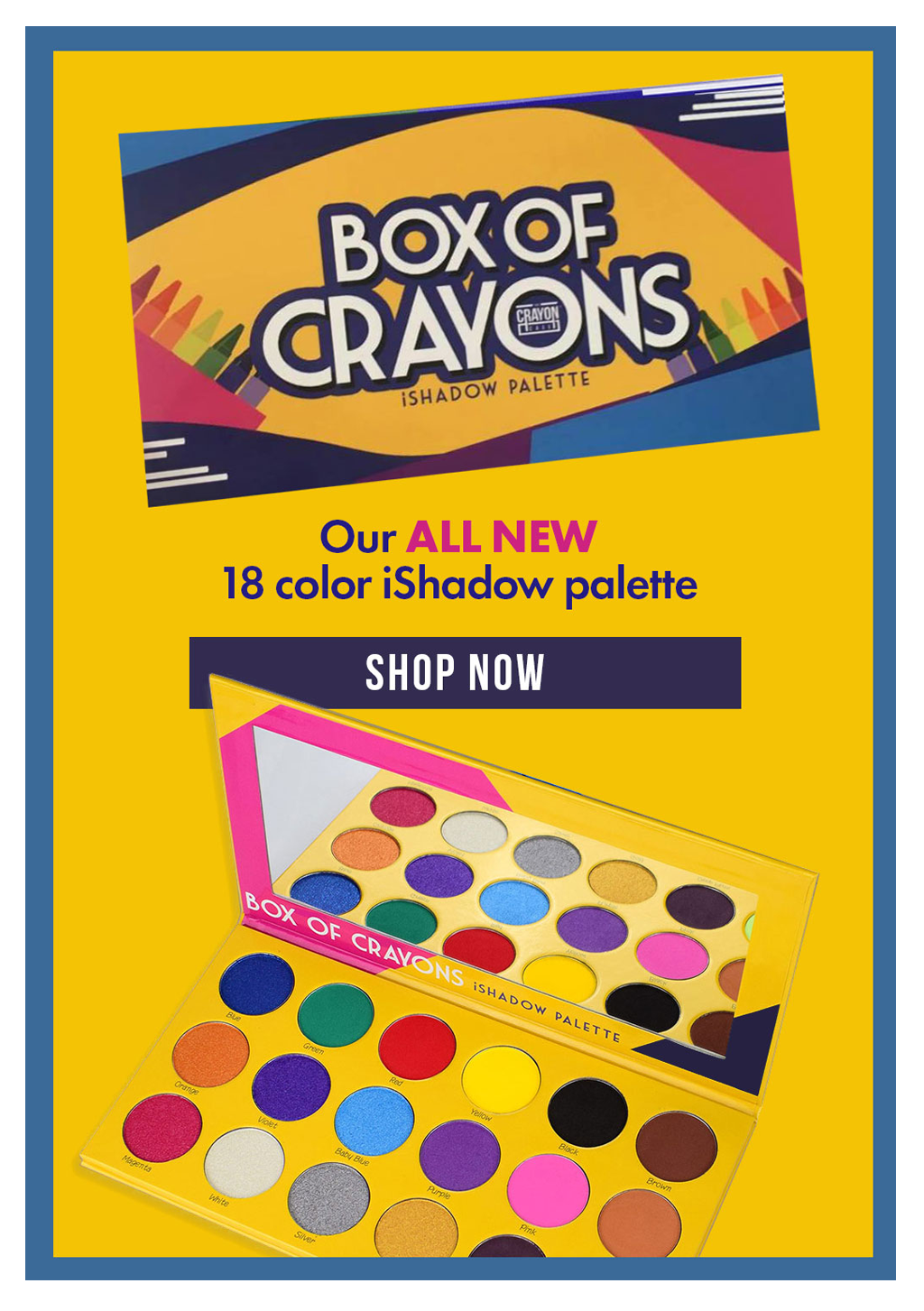 Box Of Crayons Palette Crayon, What makes you beautiful