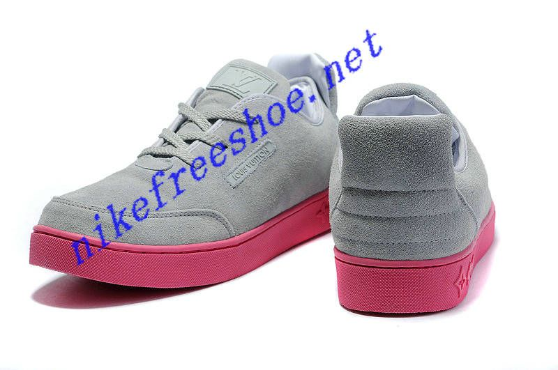 90527a6c2fd4d Kanye West Louis Vuitton Shoes For Sale x Mr Hudson Boat Cream Brown Pink