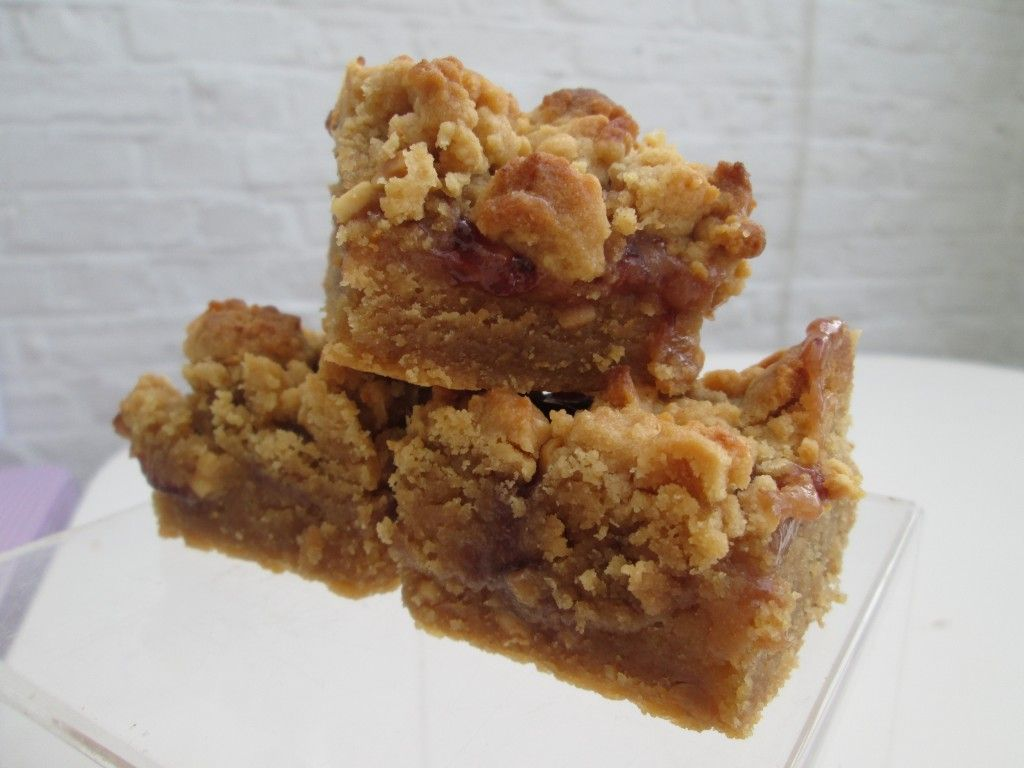 Peanut butter and jam slice peanut butter recipes jam