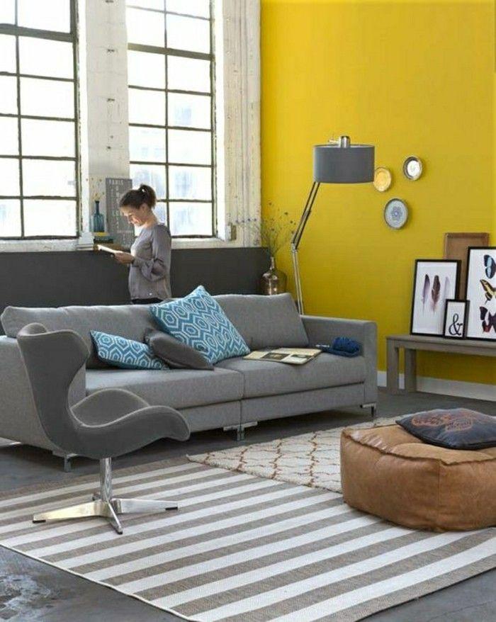 Comment associer les couleurs du0027intérieur? Simulateur de peinture - Peindre Un Mur Interieur