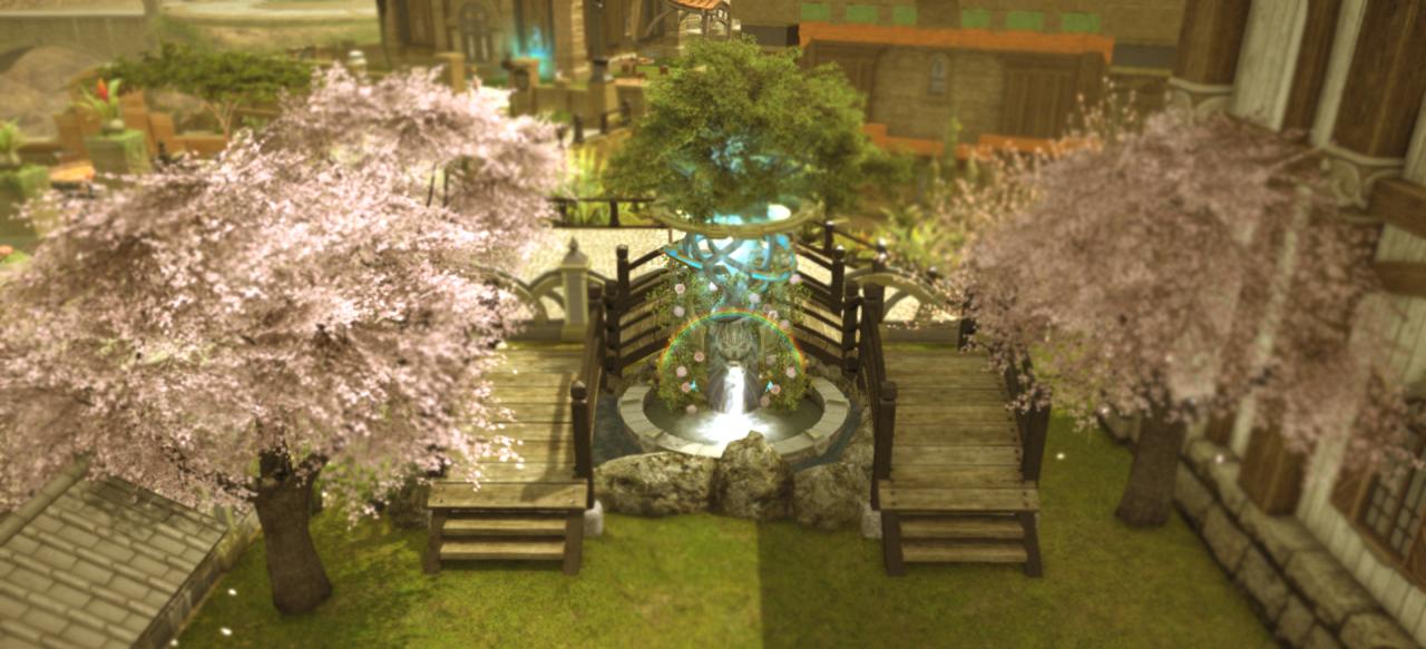 Housing Furniture Combos Page 23 Tree Garden Final Fantasy Xiv