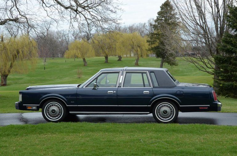 1988 Lincoln Town Car Maintenance Restoration Of Old Vintage
