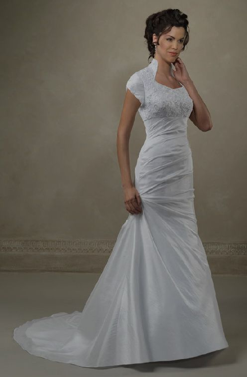 Finding the perfect LDS wedding gown isn\'t so easy due to the ...