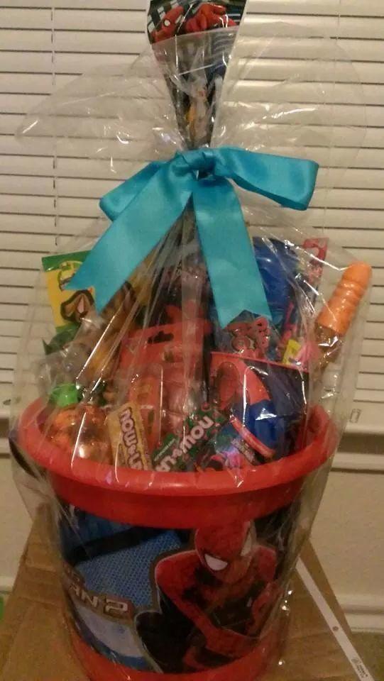 Spiderman easter basket gifts basket pinterest easter baskets spiderman easter basket negle Images