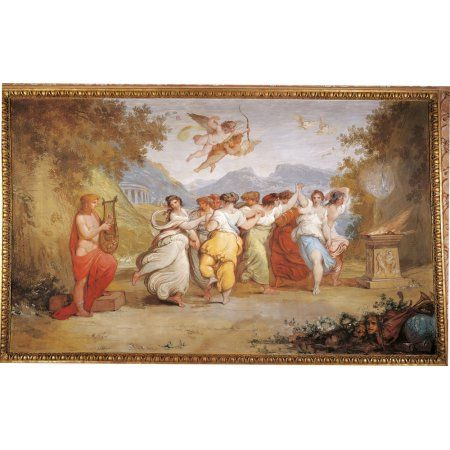 Apollo And The Muses Canvas Art - (36 x 24)