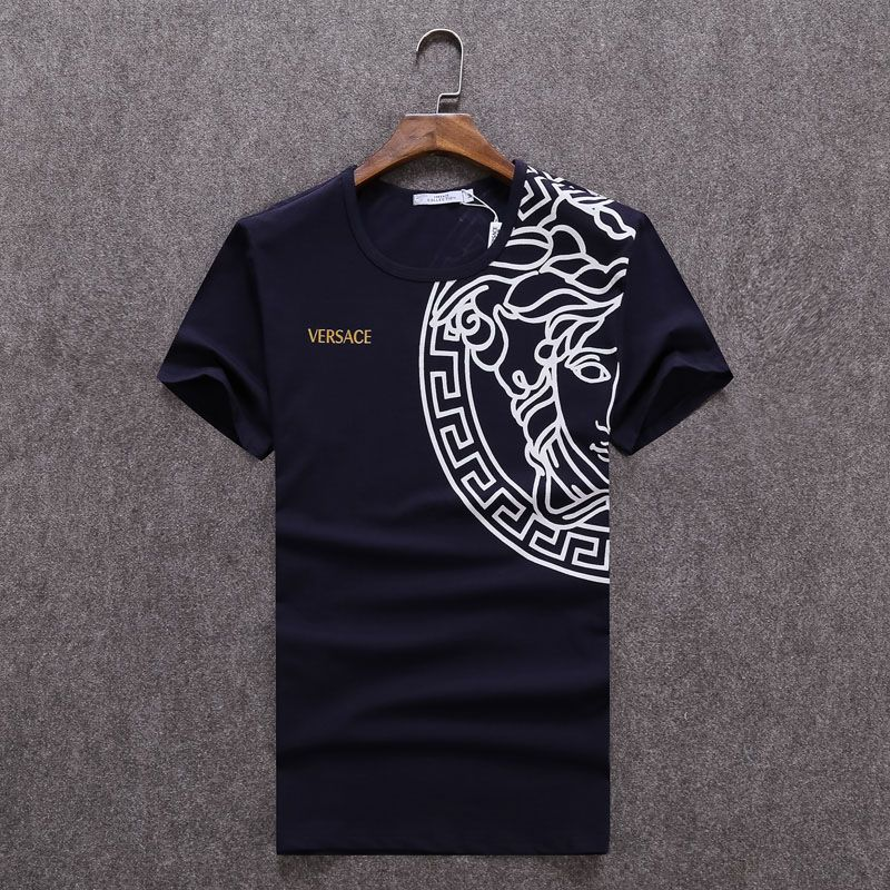Replica Versace T-Shirts for men  232249 express shipping to Spain ... 27191687948b4