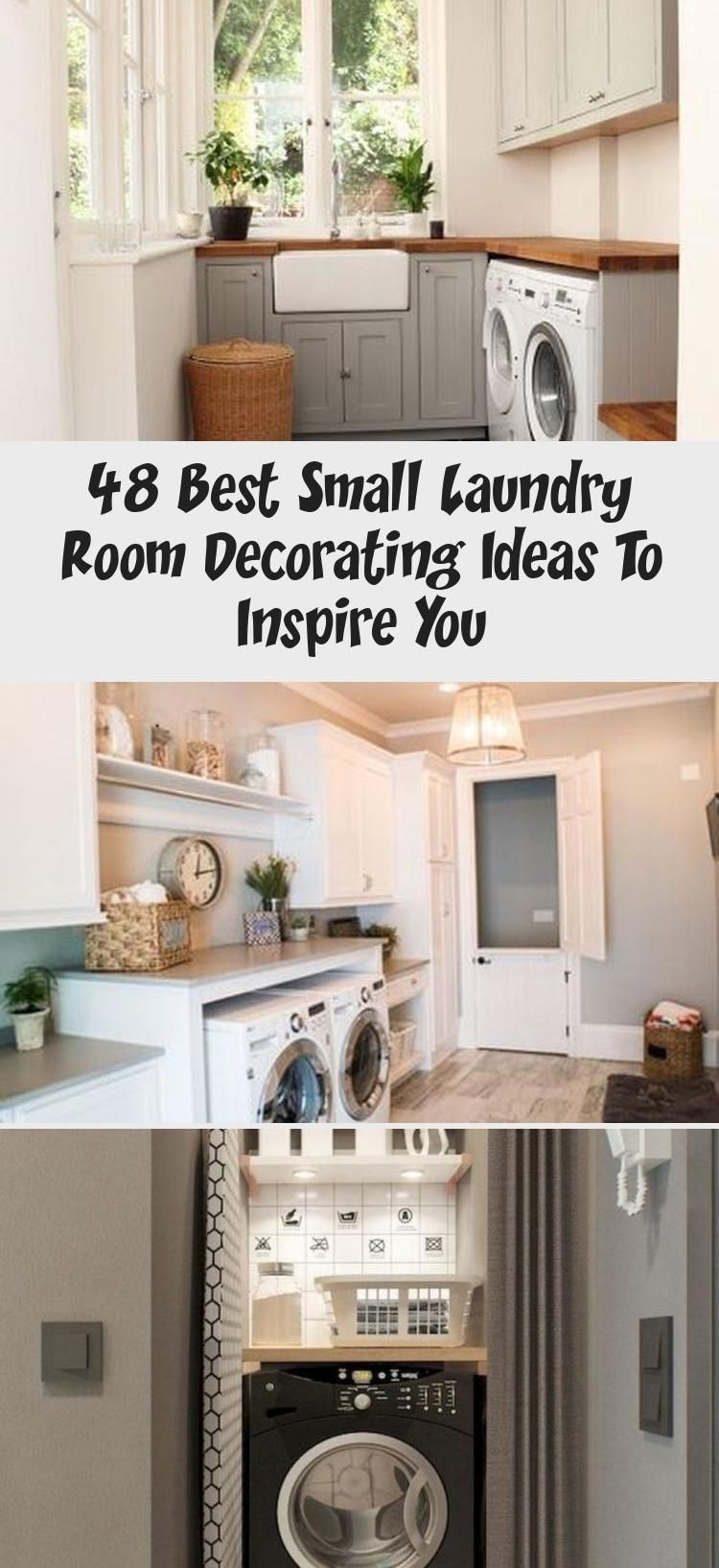 48 Best Small Laundry Room Decorating Ideas To Inspire You