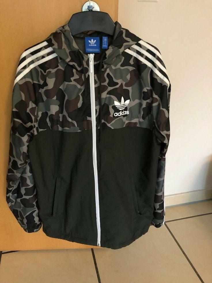 Adidas Jacke Herren M Camouflage Wie Neu #fashion #kleidung