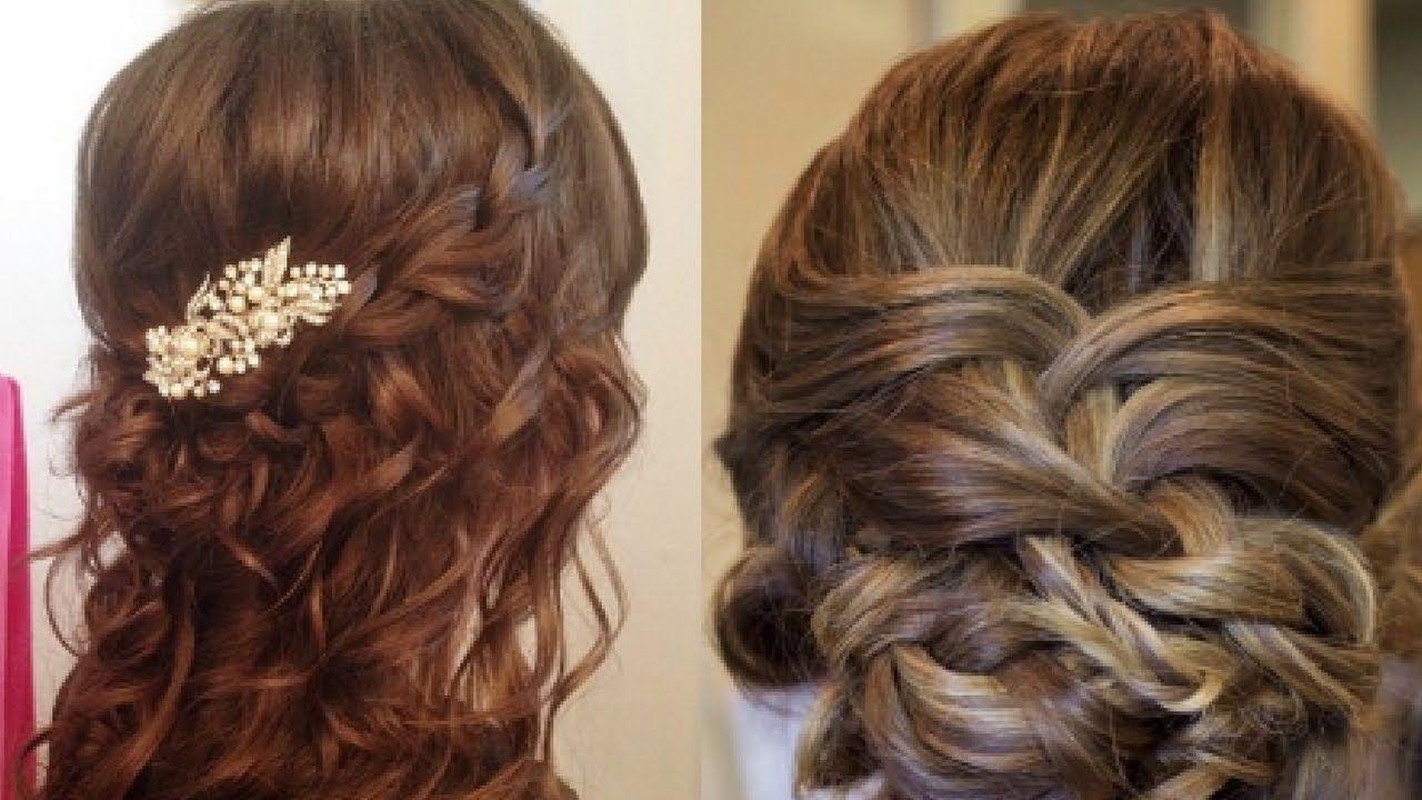 14 Easy Hair Style For Long Hair Puff Hair Style Ladies Hair Style Easy Hairstyles Ladies Hair Style Video Hair Styles