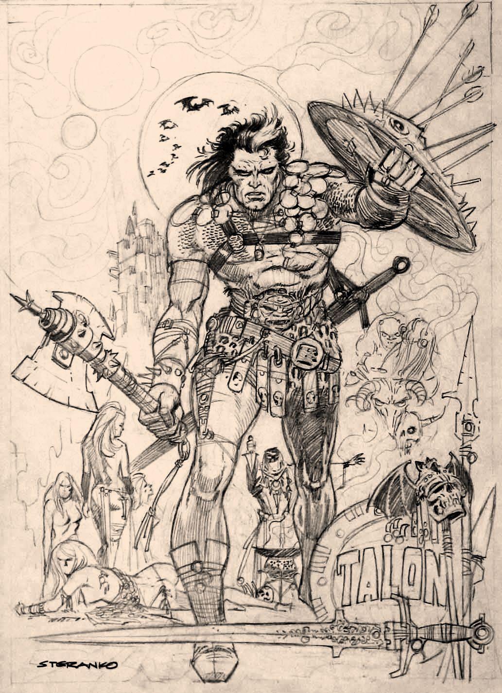 Talon by Jim Steranko