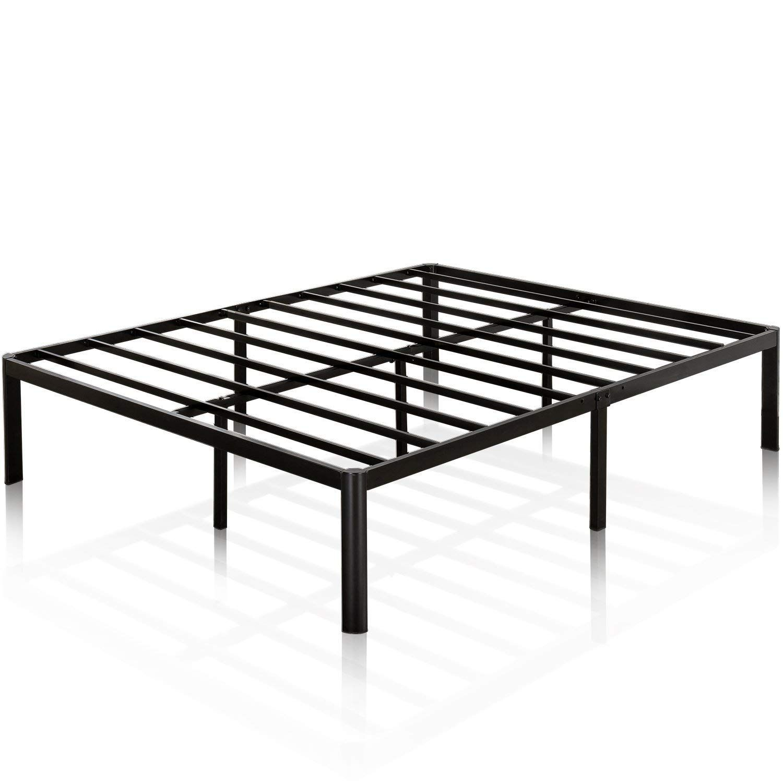 Amazon Com Zinus 16 Inch Metal Platform Bed Frame With Steel Slat