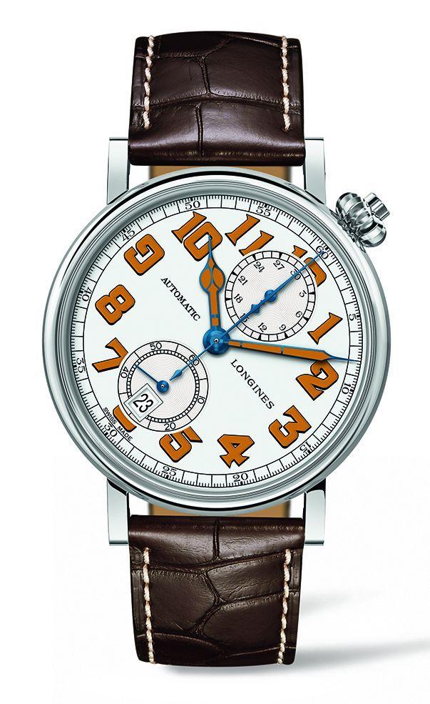 TimeZone : Industry News » N E W M o d e l - Longines Avigation Chronograph Type A7 1935
