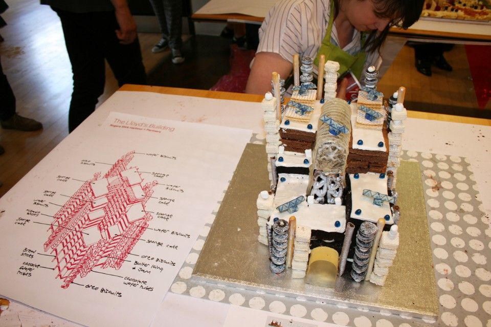 Architectural bake-off The Lloyd's Building
