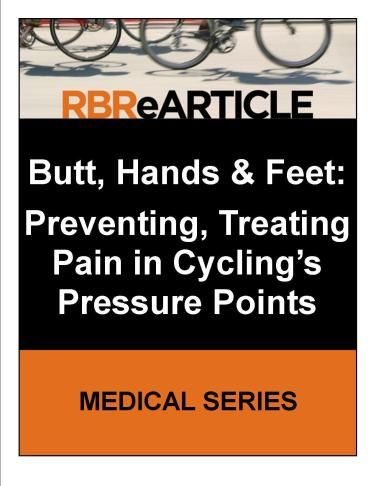 Butt, Hands and Feet – Road Bike Rider Cycling Site
