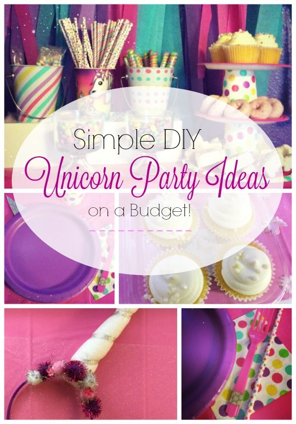 Simple diy unicorn party ideas on a budget all at walmart cheap simple diy unicorn party ideas on a budget all at walmart cheap birthday party ideas filmwisefo
