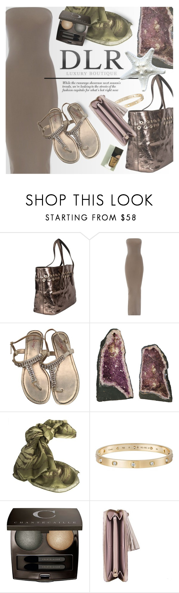"""""""Spring/Summer Sales at DLR Luxury Boutique"""" by an1ta ❤ liked on Polyvore featuring Sonia Rykiel, Wolford, Lilly Pulitzer, CO, Borbonese, Cartier and Chantecaille"""