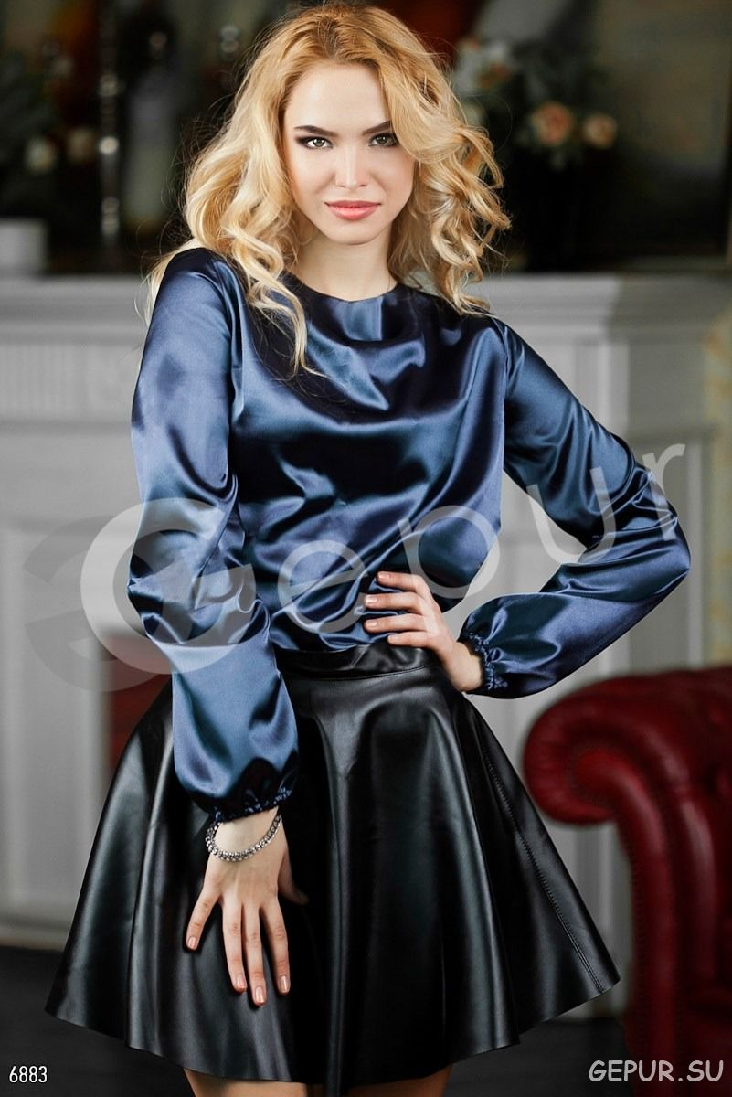 Satin blouse | Satins and Silks in 2019 | Satin blouses ...