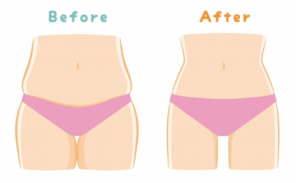 to lose visceral fat