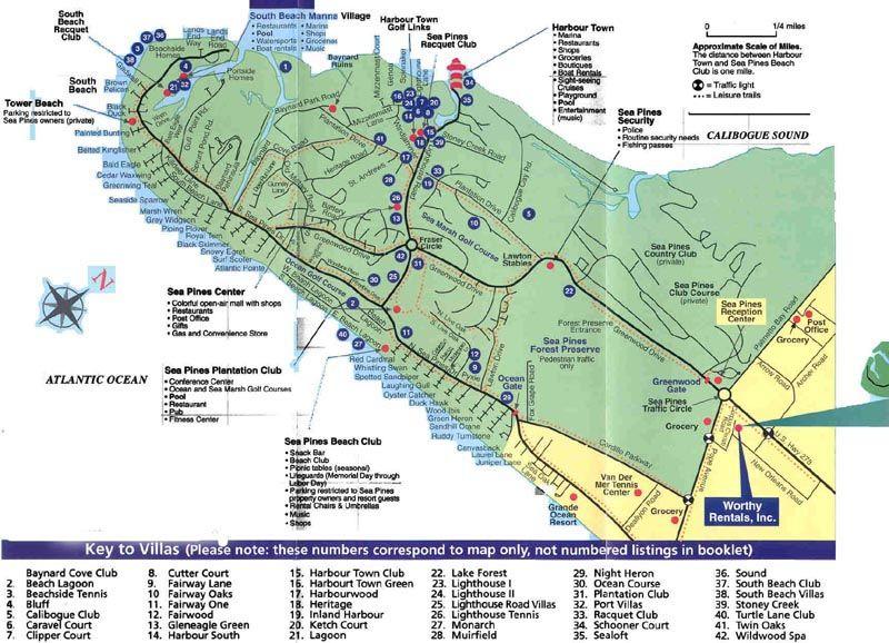 Palmentto Dunes Hilton Head Island Real Estate Map Yahoo Image - Map of sea pines hilton head island