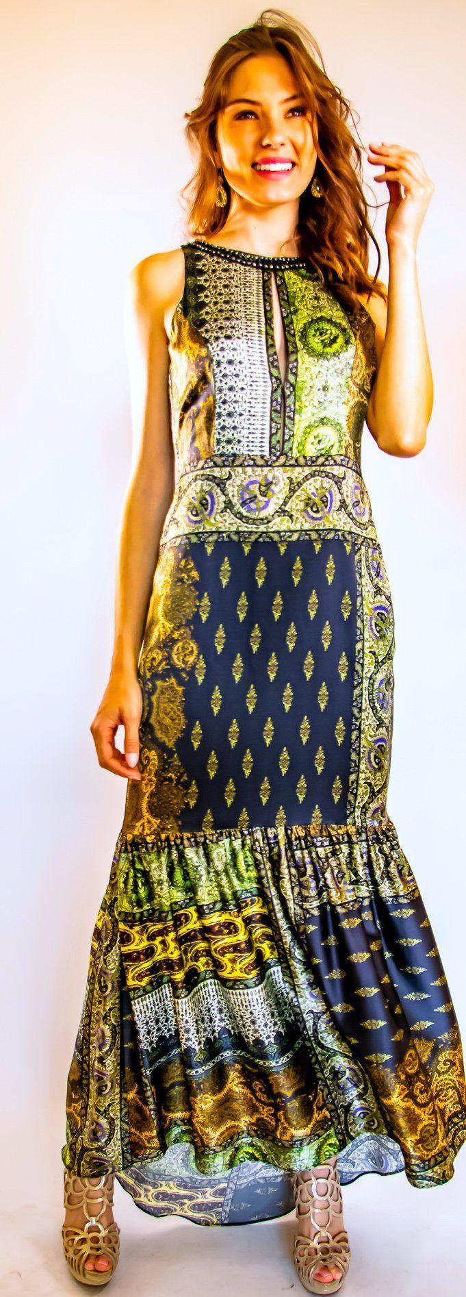 Pasha Bronze - Elegant Boho Style - M