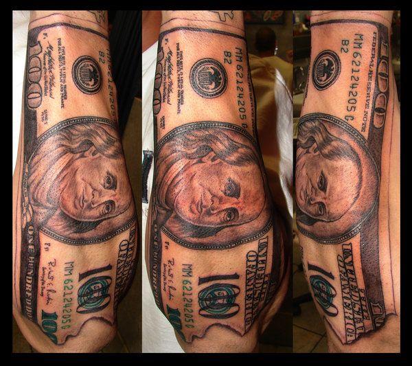 Tattoo Designs Under 100 Dollars: 100 Dollar Bill Tattoo By ~asuss06 On DeviantART
