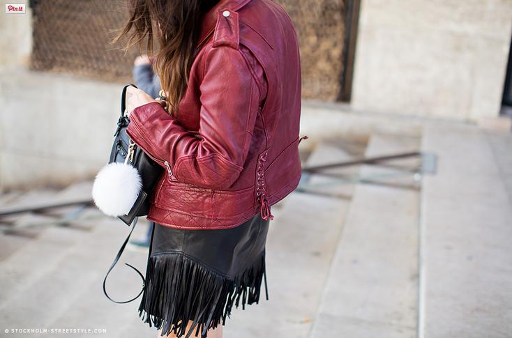 fringy leathery fab. Paris