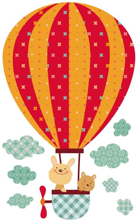 Картинки, воздушный шар открытка шаблон