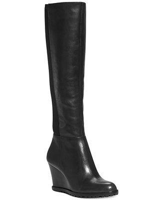 04f94efaa6cf MICHAEL Michael Kors Aileen Wedge Boots