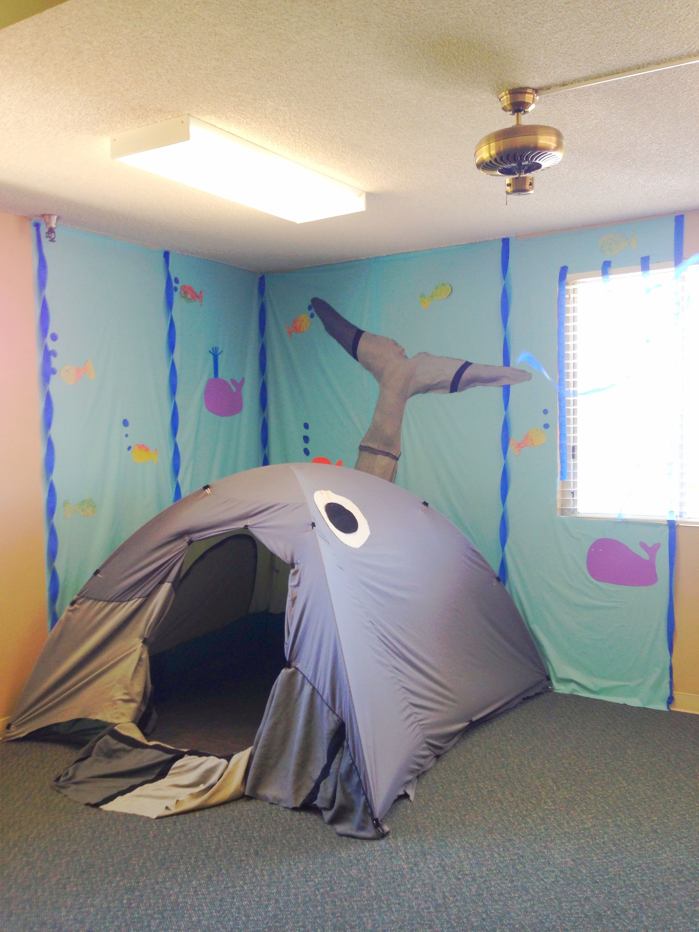 Church Decorations Jonah And The Whale Vbs Escuela Dominical