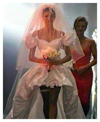 Long And Short Wedding Dress Guns N Roses November Rain Stephanie Seymour Rain Wedding November Rain 80s Wedding