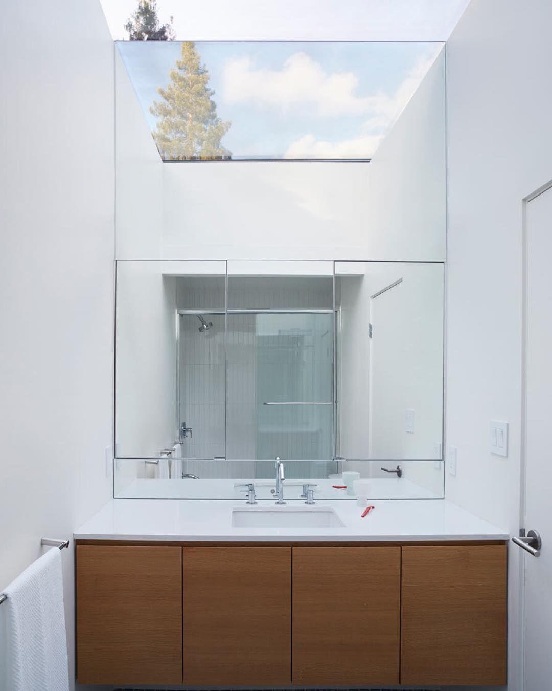 Bathroom Remodel Greenwood In: Amazing Massive #bathroom Skylight In An #Eichler