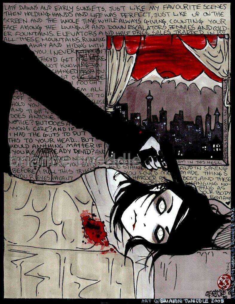 Mcr Fan Art My Chemical Romance Emo Art Art