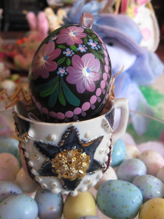 Real victorian easter pictures easter egg ribbon victorian real victorian easter pictures easter egg ribbon victorian collectible tea party teacup great gift negle Choice Image