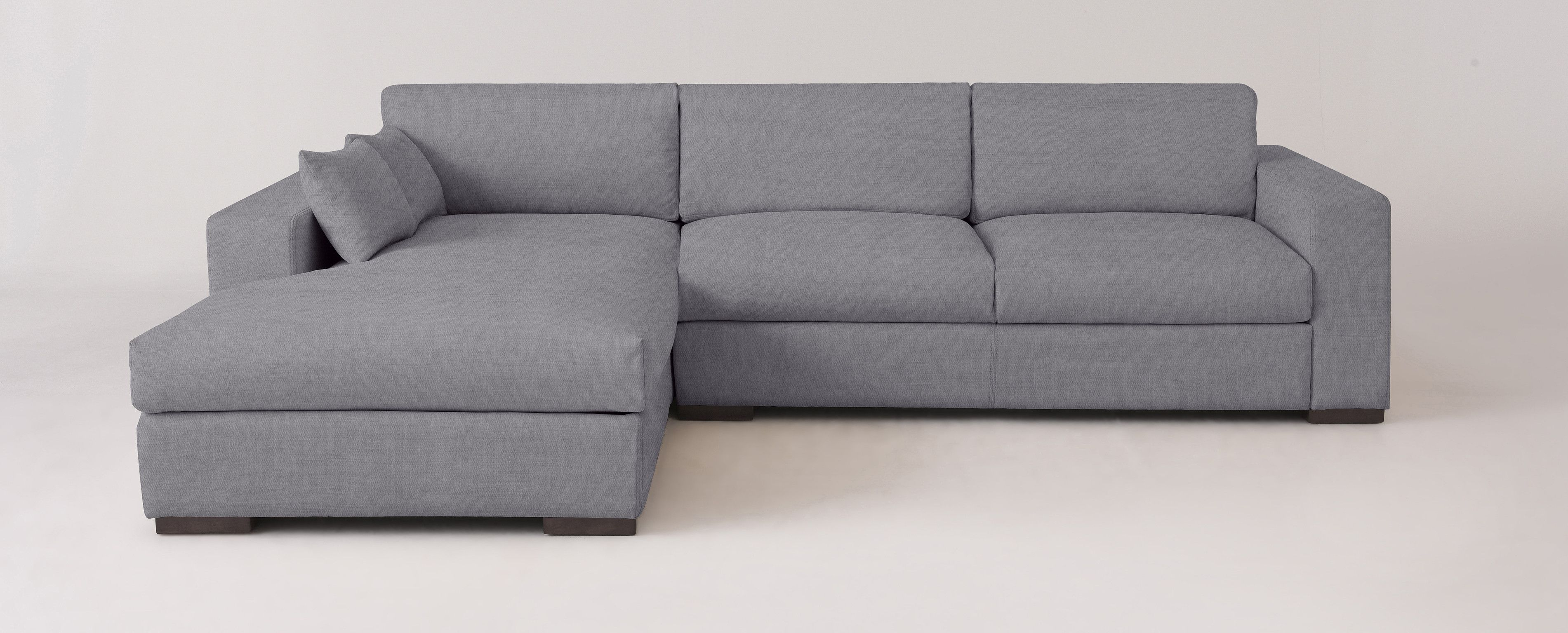 Aberdeen Left Arm Facing L Sectional Corner Sectional Fabric