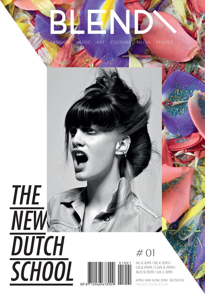 Issue: The New Dutch School  Creative Direction: Perre van den Brink, Wouter Vandenbrink  Website: www.blendbureaux.com/
