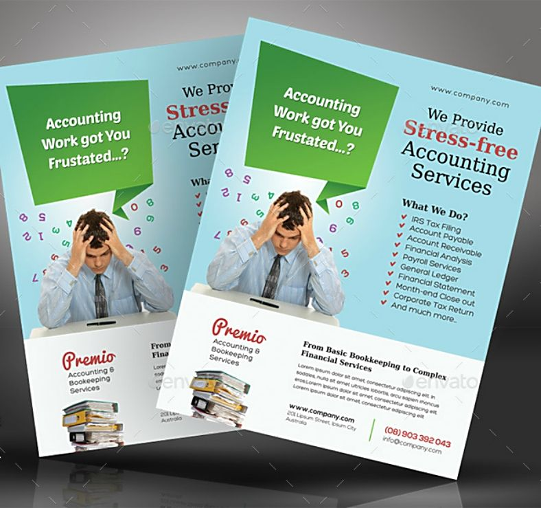 Accounting Services Flyer Templates Flyer Accounting Services Flyer Template